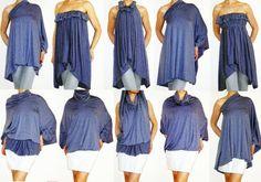 Multi-Wear Wrap - Angled Stripe by VIDA VIDA LoitZal