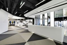 Inside Adidas Shanghai, Athletic Inspired Headquarters