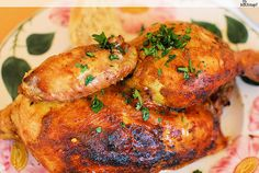 Indisches Huhn im Schmortopf