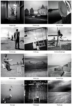 newspaper photo essays and layouts by zil raubach via behance  from mark power s shipping forecast series