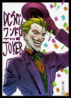 Dc Comics, Batman Comics, Joker Dc, Joker And Harley Quinn, Comic Book Villains, Comic Books, Comic Art, Iron Maiden, Batman Arkham City