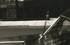 Saul Leiter - Boy, c.1960 5 3/4 X 8 5/8 inches Gelatin silver print; printed c.1970