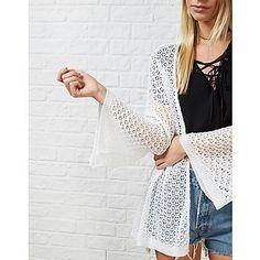 #ARKLOVES Crochet Kimonos: Hearts and Bows Azreal Crochet Knitted Kimono