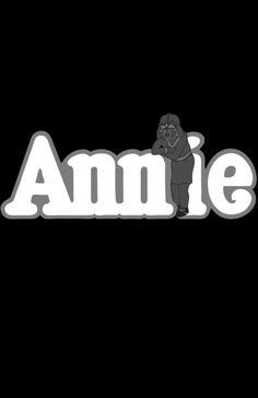 Lil' Orphan Annie Skywalker by Don Calamari via Society6