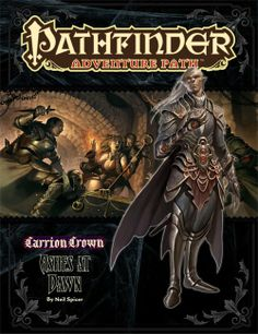 Pathfinder Adventure Path #47: Ashes at Dawn (Carrion Crown 5 of 6) (PFRPG) | Book cover and interior art for Pathfinder Roleplaying Game - PFRPG, 3rd Edition, 3E, 3.x, 3.0, 3.5, 3.75, Role Playing Game, RPG, Open Game License, OGL, Paizo Inc. | Create your own roleplaying game books w/ RPG Bard: www.rpgbard.com | Not Trusty Sword art: click artwork for source