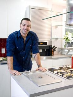 Anthony Carrino - Kitchen Cousins Anthony Carrino, Kitchen Cousins, Handsome Faces, Kitchen Recipes, Hot Hunks, Dream Guy, Design Styles, Web Design, Celebrity Crush