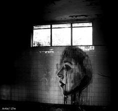 Luís Seven Martins  é L7M, um grafiteiro natural de São Paulo que chama a atenção graças aos seus desenhos realistas. Os pássaros são a imagem de marca de L7M, que ainda assim coloca o foco do seu trabalho na crítica social. // Luís Seven Martins is L7M, a graffiti artist from São Paulo that draws attention thanks to its realistic drawings. Birds are the hallmarks of L7M, that still puts the focus of his work in social criticism.