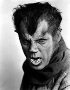 The Werewolf of London ~ Make up by Jack Pierce, and the Actor was Henry Hull. ( 1935 )