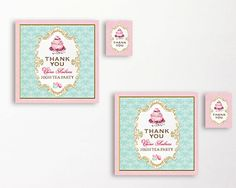 These delightful personalised high tea party tea bag packets will make the perfect addition to your bridal shower, kitchen tea or baby shower.