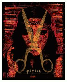 Original concert poster for The Pixies in Washington, DC at The Dar Constitution Hall in 2009. 4 color silkscreen. 17.8 x 21.75 inches Limit...