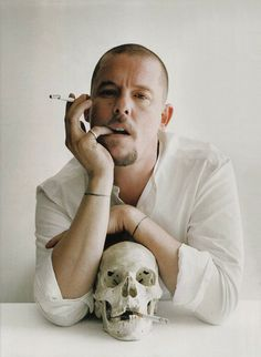 McQueen was a true artist, and his work is rock and roll to the bone. Pinner: Ruby Rose, DJ.