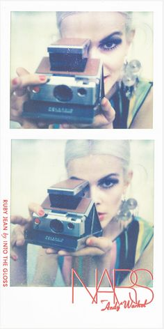 NARS Andy Warhol Collection x ITG (with our Edie, Ruby Jean Wilson), photographed by Emily Weiss.