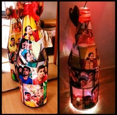 Lighting bottle.. also use as night lamp.. gift to someone special.. love to do..