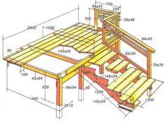 как построить крыльцо с лестницей