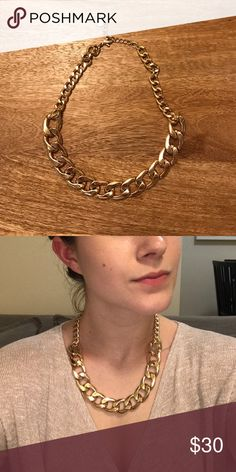 Gold Chain Necklace Adjustable lengths Talbots Jewelry Necklaces