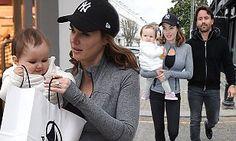 Tamara Ecclestone cradles baby daughter Sophia #DailyMail