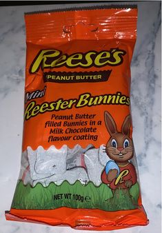Peanut Butter Filling, Easter 2020, Snack Recipes, Snacks, Chocolate Flavors, Chips, Bunny, Mini, Snack Mix Recipes
