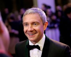 "thefreebeard: "" Martin Freeman at the London Film Festival 17.10.15. (x) """