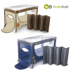 Thanks to the stable structures this travel cot is extremely safe to use and interesting colors makes them an attractive appearance.