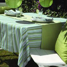 Green stripes