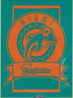 """Miami Dolphins Crest Collection 60x80"""" Blanket/Throw"""