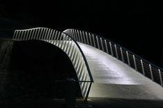 Sava Footbridge,© Dejan Simčič