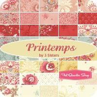 Printemps Yardage 3 Sisters for Moda Fabrics