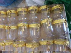 Tacinhas para o doce de leite (ambrosia)