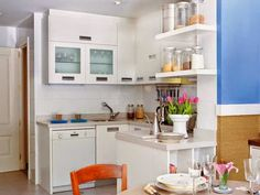 [Decotips] Mini cocinas llenas de grandes ideas | Decorar tu casa es facilisimo.com