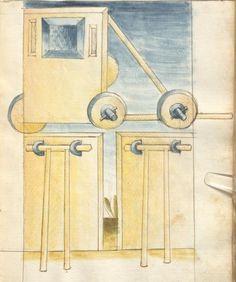 Bellifortis VerfasserKyeser, Conradus  ErschienenElsaß, [um 1460] Ms. germ. qu. 15  Folio 30r