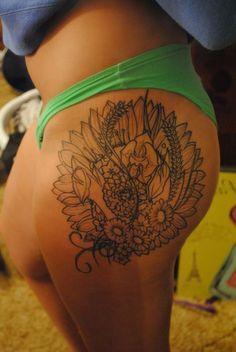 Hip Tattoo         tattoo  tattoo  black tattoo  tattoo