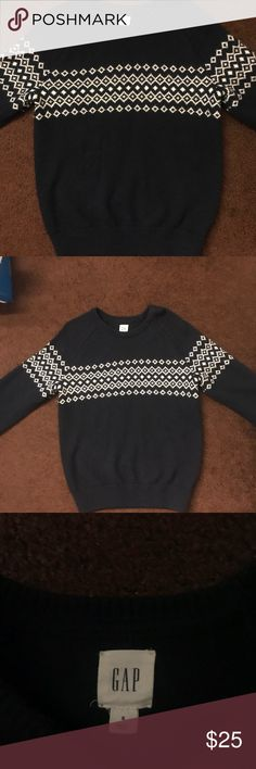 Men's Olive Fair Isle Crew-neck Sweater, Black Jeans | Crew neck ...