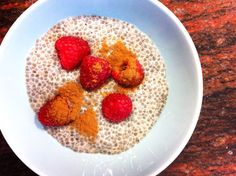 Chia Seed Pudding - I also like to add ground flax seed, walnuts and blueberries to mine!