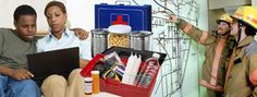 Be Ready! National Preparedness Month: September Emergency Preparedness Checklist, Disaster Preparedness, National Preparedness Month, Safety First, Public Health, Health And Safety, Survival Skills, Childcare, Aid Kit