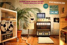 Space Magnetic Mastering - music mixing & mastering professionals.  #protools #ableton #magnetic #tape, #neve; #rupertneve #highend #revox #studer #thorens #sme #tonearm #vinyl #cassettes