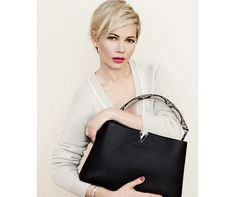 Louis Vuitton has tapped Michelle Williams for a second time as the face of the brand's latest accessories campaign. The actress, who appeared in the label's fall ads last year, is back for spring.