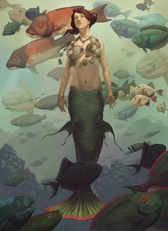 ✯ Mermaid :: Artist Unknown ✯