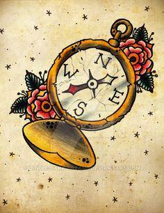 compass by little-dark-dreams.deviantart.com on @DeviantArt