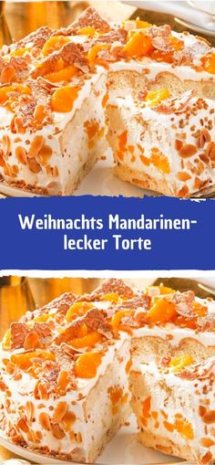 Weihnachts Mandarinen-Torte - Health and wellness: What comes naturally Berry Smoothie Recipe, Easy Smoothie Recipes, Easy Smoothies, Healthy Recipes, Coconut Milk Smoothie, Homemade Frappuccino, Pumpkin Spice Cupcakes, Macaron, Ice Cream Recipes
