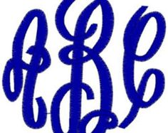 Car Decal Monogram With Your Initials - Edit Listing - Etsy