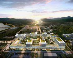 SAMOO IBS headquarters phase 1 daejeon korea designboom