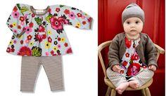 Floral Zweiteiler / Baby Girl Set