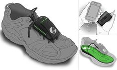These shoes were made for CHARGING: Footwear generates enough power to recharge a phone as you walk.