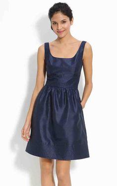 Navy Blue Jr Bridesmaid Dresses
