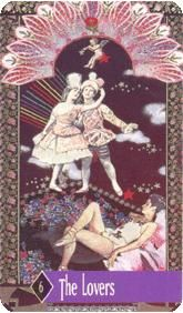 August 15 Tarot Card: The Lovers (Zerner Farber deck) Oftentimes it is our relationships with others that teach us the most about ourselves