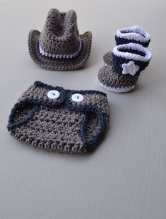 364f91230e4 Newborn Baby Cowboy Outfit Costume Crochet Cowboy Hat Boots With Spurs Crochet  Cowboy Outfit Baby Boy Photography Photo Prop Handmade