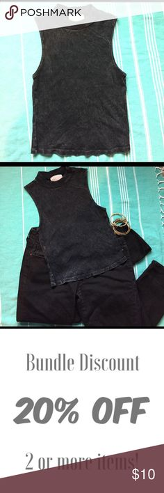Black Distressed Crop Top  Any girl who goes to punk and rock concerts will adore this shirt instantly! This is a black distressed crop top. I have never worn. I bought from PacSun PacSun Tops Crop Tops