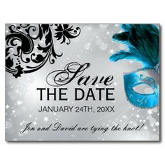 I found the perfect Save the Date! Too bad it isn't red though.....