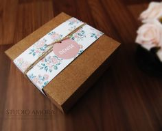 Caixa convite madrinha - Studio Amora