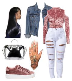 """""""Untitled #530"""" by thisisarisworld ❤ liked on Polyvore featuring Steve Madden, Levi's, Boohoo and Givenchy"""